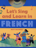 Let's Sing and Learn in French (Book + Audio)