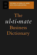 The Ultimate Business Dictionary PDF