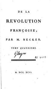 De la Révolution françoise: Volume4