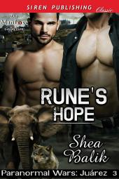 Rune's Hope [Paranormal Wars: Juarez 3]