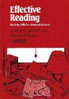 Effective Reading Student s Book PDF
