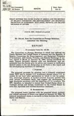 Treaty Between the United States of America and the Republic of Belarus Concerning the Encouragement and Reciprocal Protection of Investment  with Annex  Protocol  and Related Exchange of Letters PDF