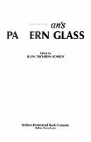 Warman s Pattern Glass PDF
