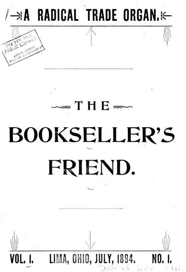 The Bookseller s Friend PDF