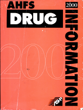 Ahfs Drug Information  2000 PDF