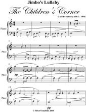 Jimbo's Lullaby the Children's Corner Elementary Piano Sheet Music