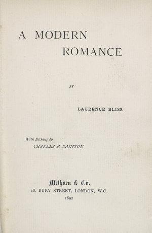 A Modern Romance