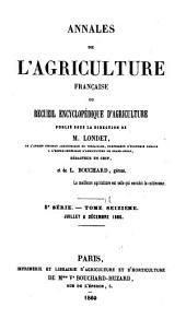 Annales de l'agriculture française