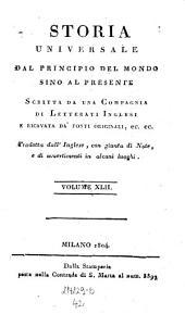Storia Universale Dal Principio Del Mondo Sino Al Presente: Volume 42