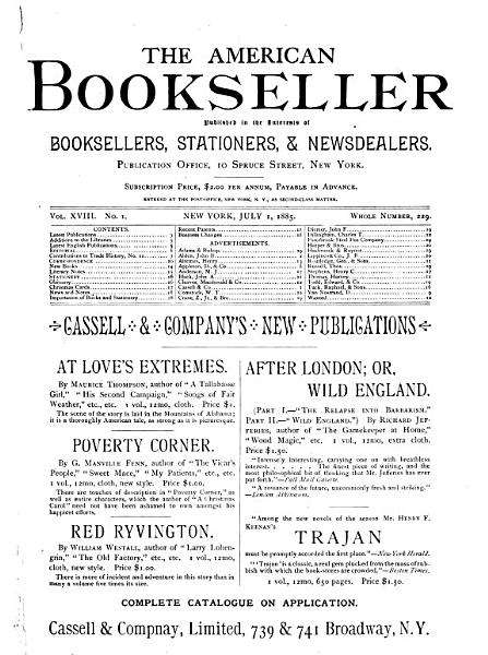 Download The American Bookseller Book