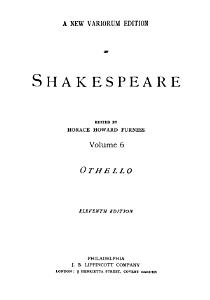 Othello Book