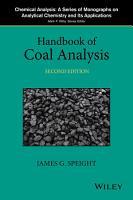 Handbook of Coal Analysis PDF
