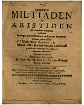 Militiaden & Aristiden filo Corneliano detextum