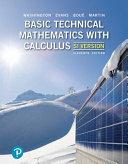 Basic Technical Mathematics with Calculus  SI Version   Mylab Math PDF