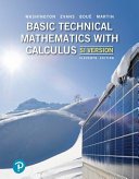 Basic Technical Mathematics with Calculus  SI Version   Mylab Math PDF