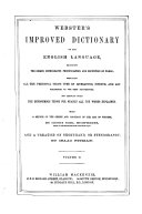 Webster's Improved Dictionary of the English Language