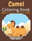Camel Coloring Book