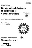 Proceedings of the 8th International Conference on the Physics of Highly Charged Ions, Omiya, Saitama, Japan, September 23-26, 1996