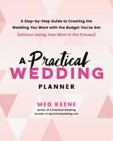 A Practical Wedding Planner PDF