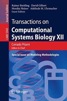 Transactions on Computational Systems Biology XII PDF