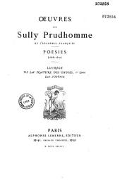 Poésies de Sully Prudhomme: 1878-1879