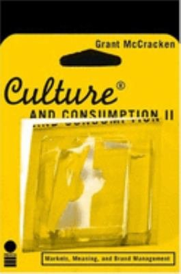 Culture and Consumption II