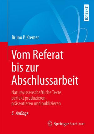 Vom Referat bis zur Abschlussarbeit PDF