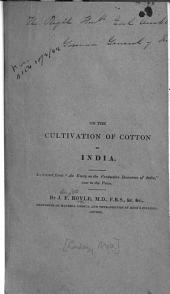 The Cultivation of Cotton in India