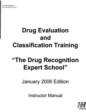 Drug Recognition Expert School