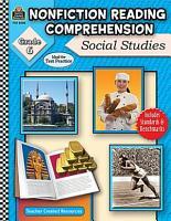 Nonfiction Reading Comprehension  Social Studies  Grd 6 PDF