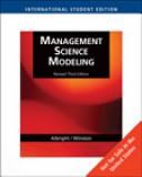Management Science Modeling Book