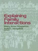 Explaining Family Interactions PDF
