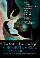 The Oxford Handbook of Corporate Social Responsibility PDF