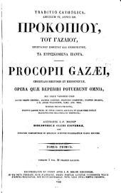 Patrologiae cursus completus ...: Series graeca, Volume 87, Part 1