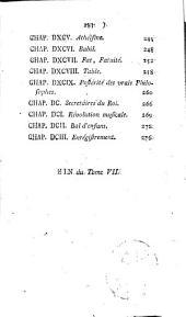 Tableau de Paris: Volume7
