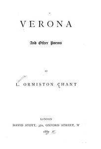 Verona  and Other Poems PDF