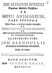 De Motu Animalium: Volume 2