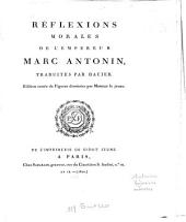 Réflexions morales de l'empereur Marc Antonin