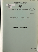 Agricultural Sector Study