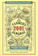 Old Farmer's Almanac 2001 Hardcover