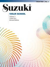 Suzuki Violin School - Volume 3 (Revised): Violin Part
