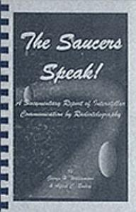 The Saucers Speak Book