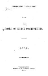 Annual Report of the Board of Indian Commissioners to the Secretary of the Interior: Volume 21