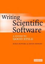 Writing Scientific Software