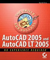 AutoCAD 2005 and AutoCAD LT 2005 PDF