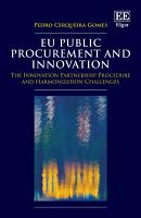 EU Public Procurement and Innovation PDF