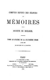 COMTES RENDUS DES SEANCES ET MEMOIRES DE LA SOCIETE DE BIOLOGIE