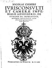 De Othone III. Imperatore ejusque instituto consiliorum imperatorum oratio