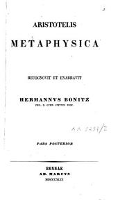 Metaphysica: Volume 2