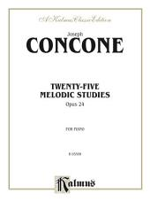 Twenty-five Melodious Studies, Opus 24: For Piano
